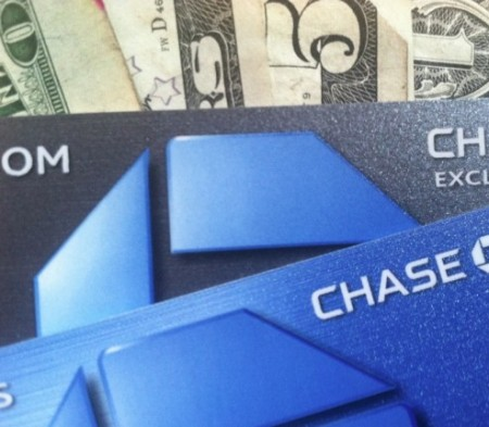chase credit card and money