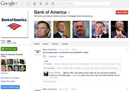 google plus bofa