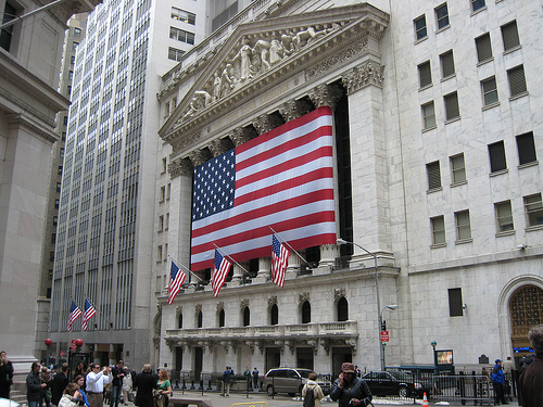 Wall street and the nyse stock video 363725 pond5