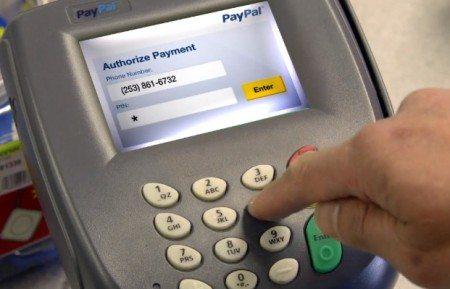 Paypal mobile number at terminal