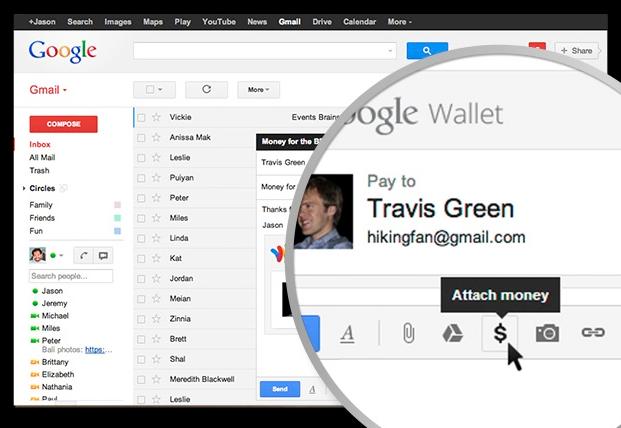 send money via email image
