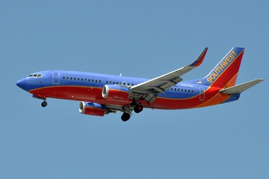 Southwest Airline Plane