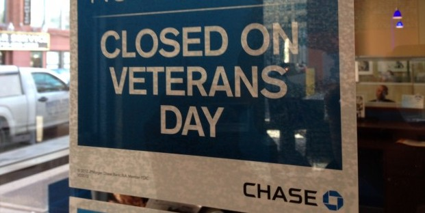 Chase Veterans Day