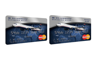 US Airways Dividend Miles Credit Cards