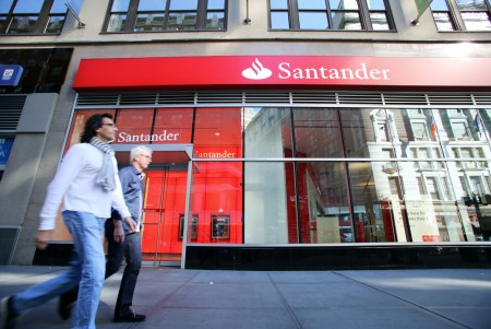 Santander Bank NYC Branch