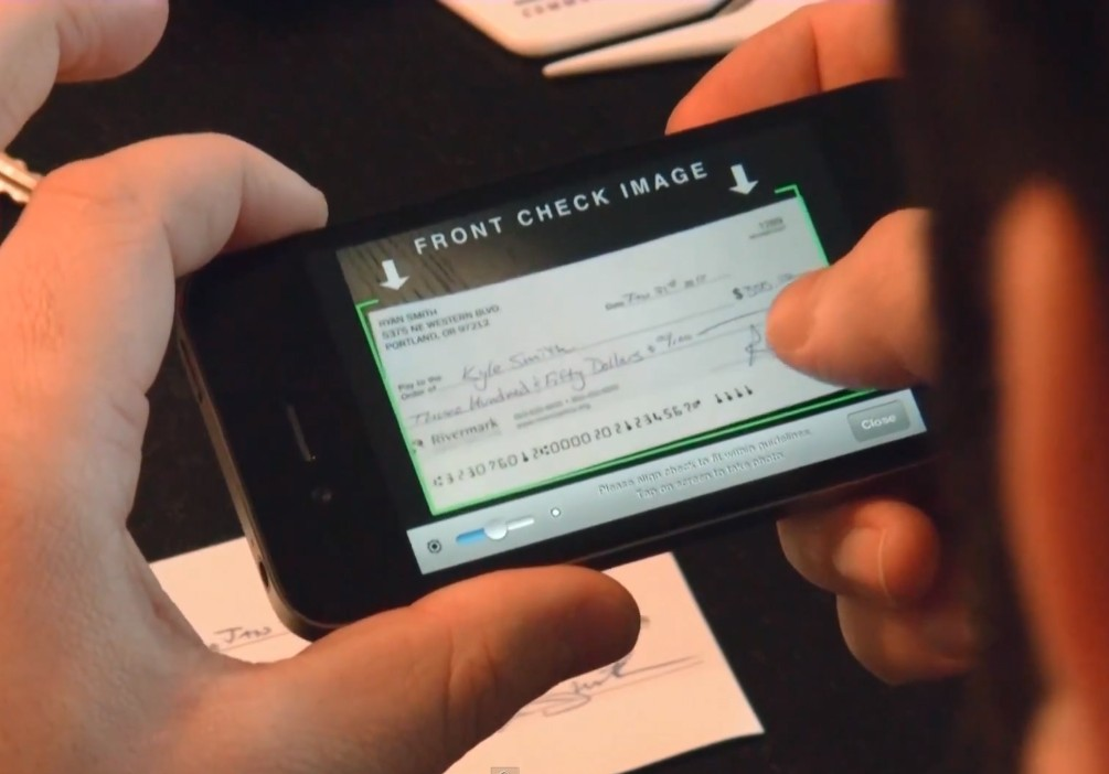 mobile check deposit at Rivermark Community Credit Union