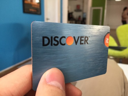 Discover it credit card