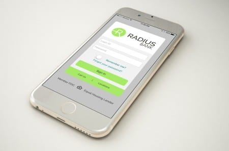 Radius Bank App