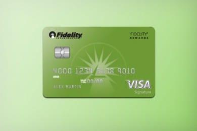 Fidelity Rewards Visa Signature Credit Card