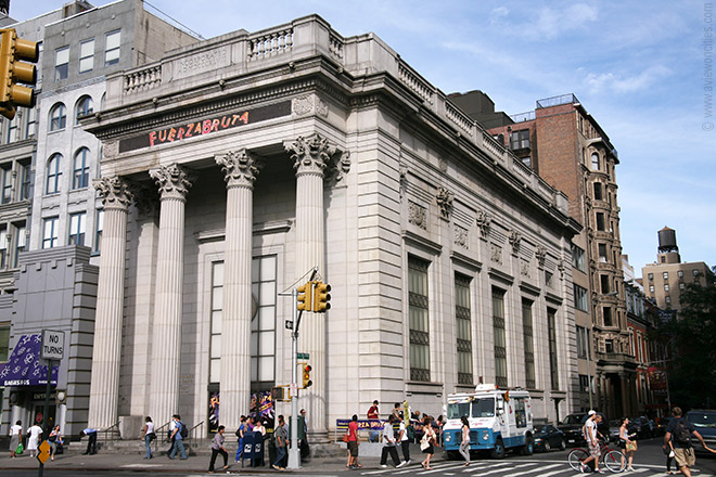 Union Square Savings Bank, now Daryl Roth Theater (101 E. 15th St.)