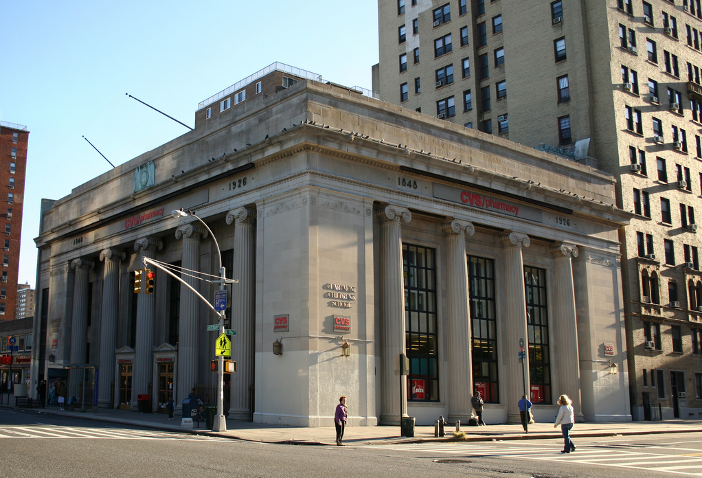 East River Savings Bank, now CVS (743 Amsterdam Ave.)