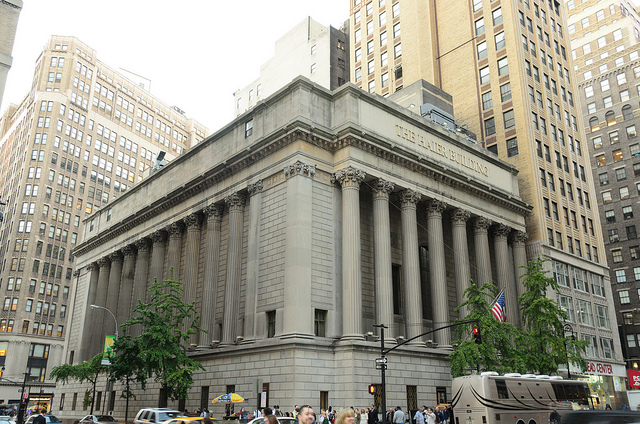 Greenwich Savings Bank, now The Haier Building (1352 Broadway)