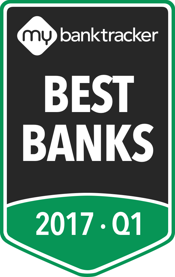 The MyBankTracker awards to the best banks for 2017