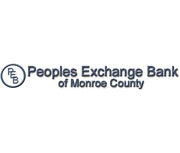 Peoples Exchange Bank of Monroe County brand image