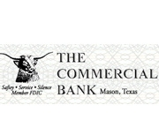 The Commercial Bank (Mason, TX) logo
