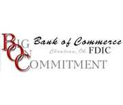 Bank of Commerce (Chouteau, OK) logo