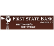 First State Bank (Yoakum, TX) logo