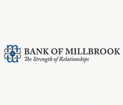 Bank of Millbrook brand image