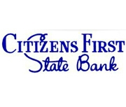 Citizens First State Bank of Walnut logo