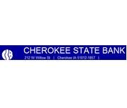 Cherokee State Bank logo