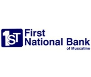 First National Bank of Muscatine logo