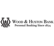 Wood & Huston Bank logo