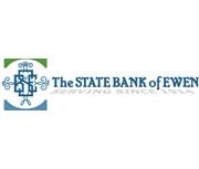 The State Bank of Ewen logo