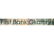 The First Bank of Okarche logo