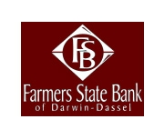 Farmers State Bank of Darwin logo