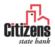 Citizens State Bank of Clayton logo