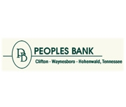 Peoples Bank (Clifton, TN) logo