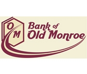 The Bank of Old Monroe logo