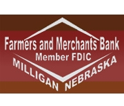 Farmers and Merchants Bank (Milligan, NE) logo