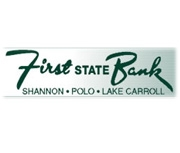 First State Bank Shannon-polo logo