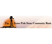 The James Polk Stone National Bank logo