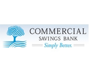 The Commercial Savings Bank logo