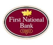 The First National Bank of Grayson logo