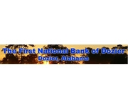 The First National Bank of Dozier logo