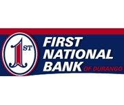 The First National Bank of Durango logo