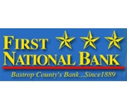 The First National Bank of Bastrop logo