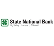 The State National Bank of Big Spring logo