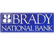 The Brady National Bank logo