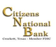 Citizens National Bank (Crockett, TX) logo