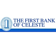 The First Bank of Celeste logo