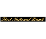 The First National Bank of Evant logo