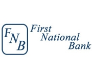 The First National Bank of Gilmer logo