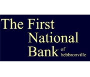 The First National Bank of Hebbronville logo