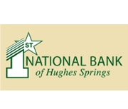 The First National Bank of Hughes Springs logo