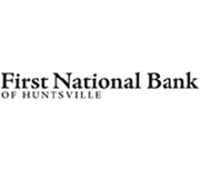 First National Bank of Huntsville logo