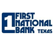First National Bank Texas brand image